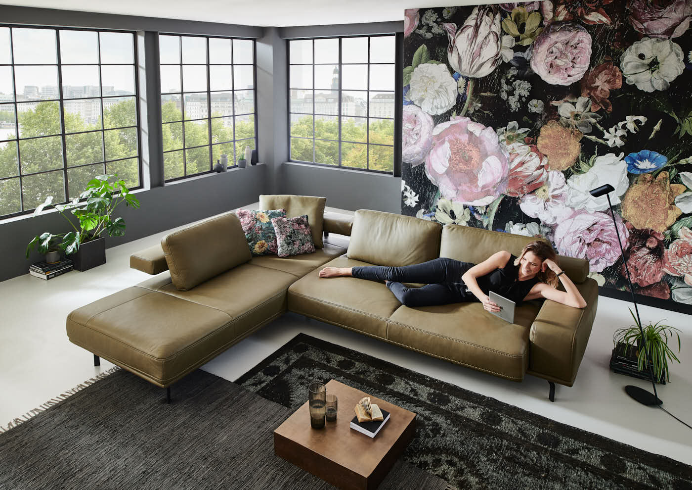 Com4Lux Sofa Sunrose Entspannung