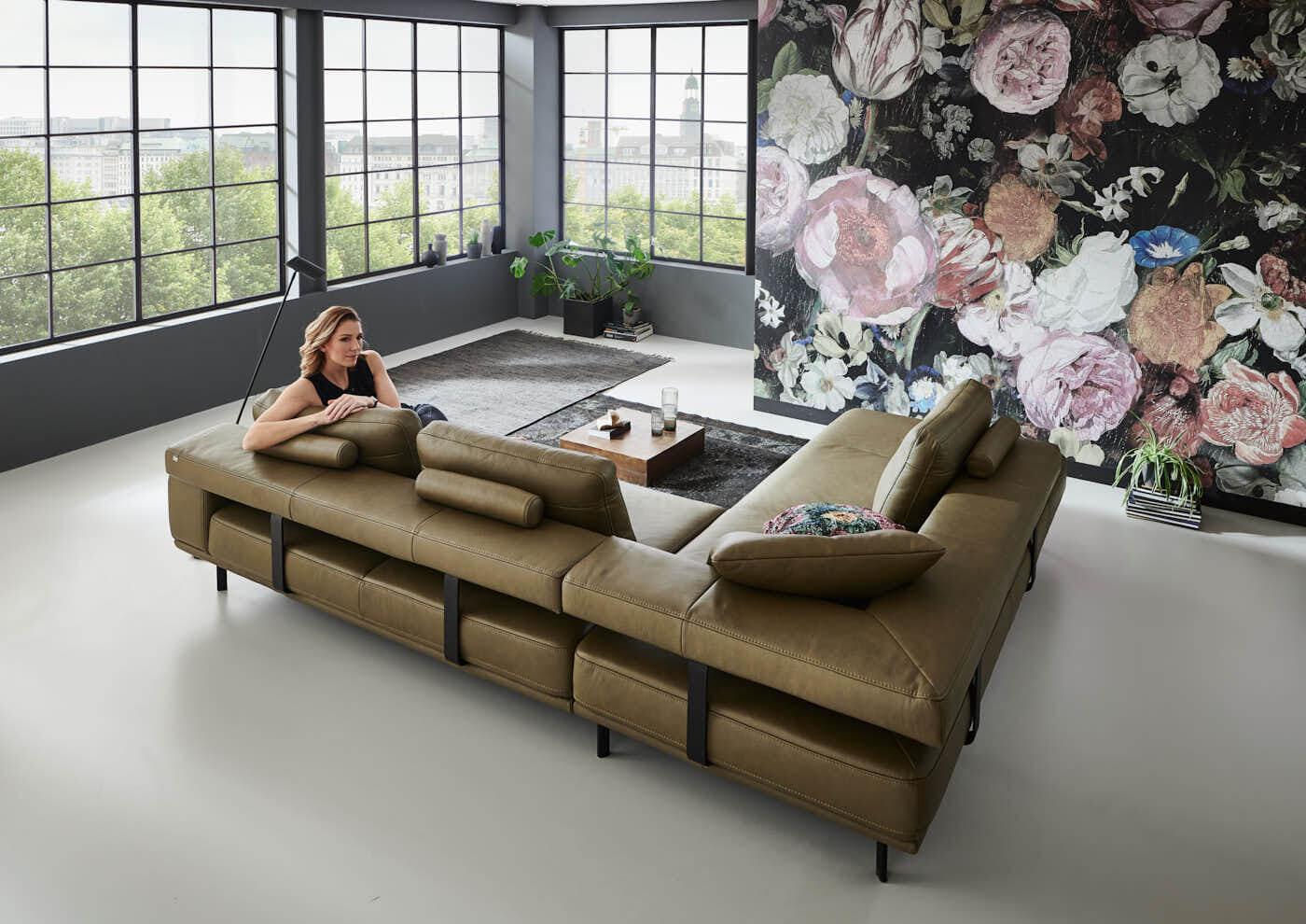 Com4Lux Sofa Sunrose innovativ